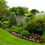 backyard-flower-garden-designs-organic-gardening-and-lawn